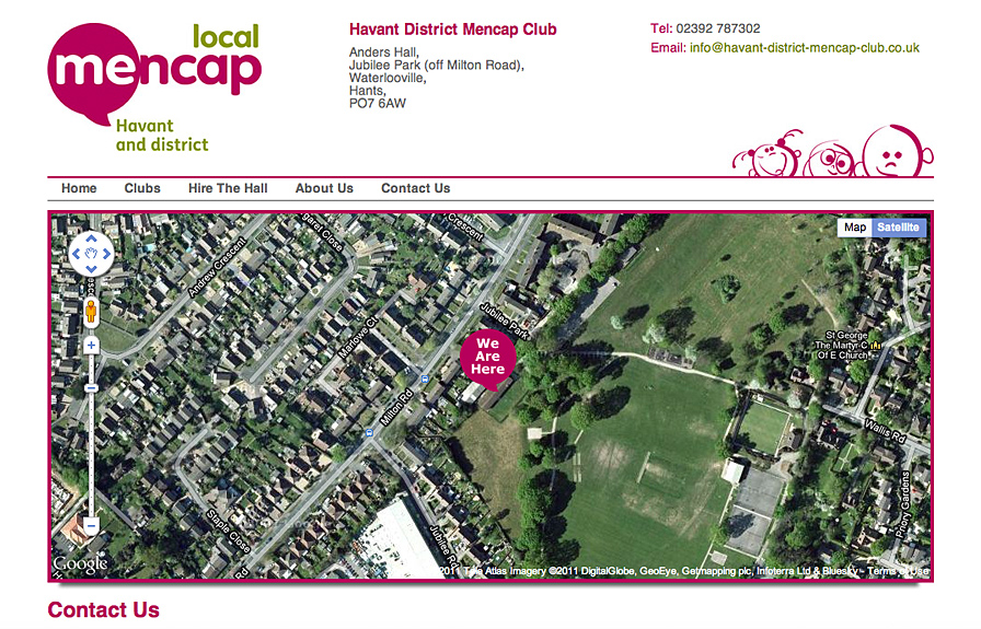 Mencap Havant Contact Us